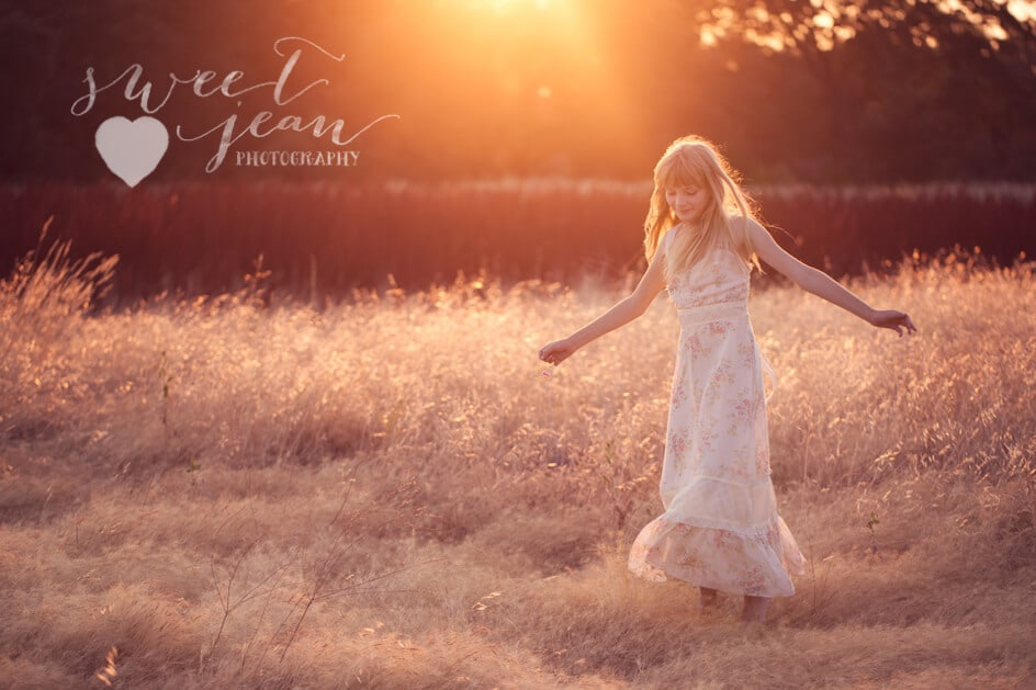 Natural Light Child Photographer
