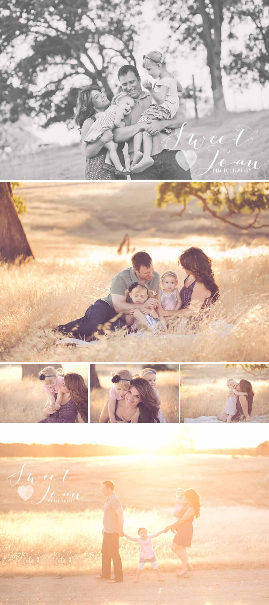 Folsom Family Photographer | The 'L' Family