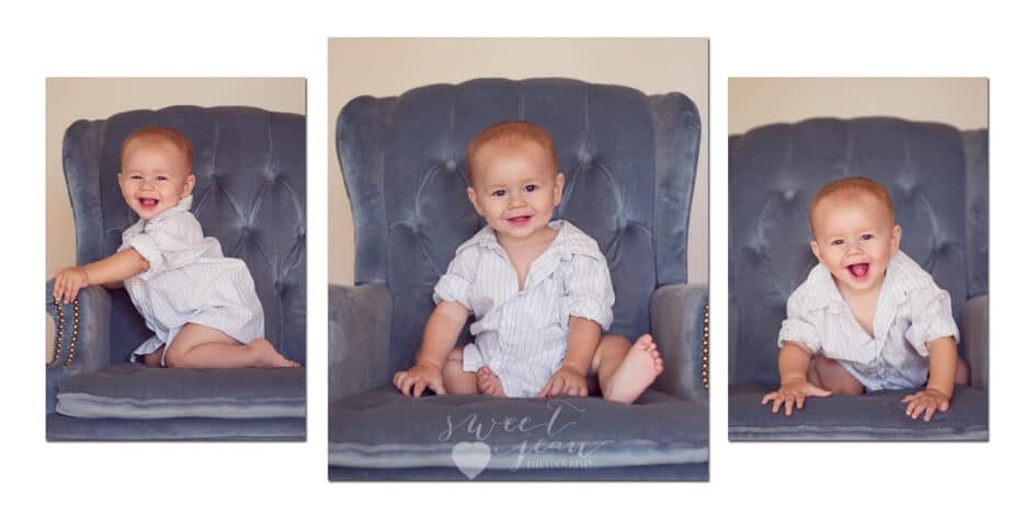 Roseville Baby Photographer | oh baby! 9 months old