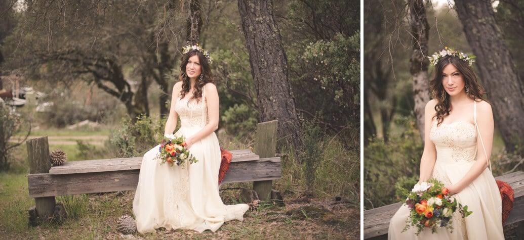 Nevada City Wedding Bride