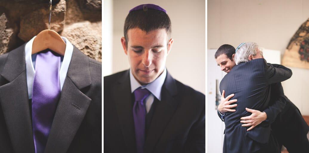 Nevada City Wedding Photographer Groom