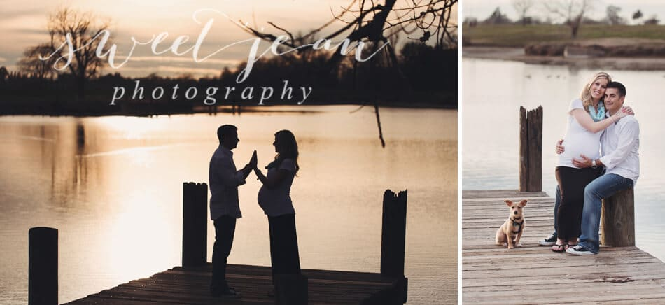 Hello Darling | Roseville Maternity Session
