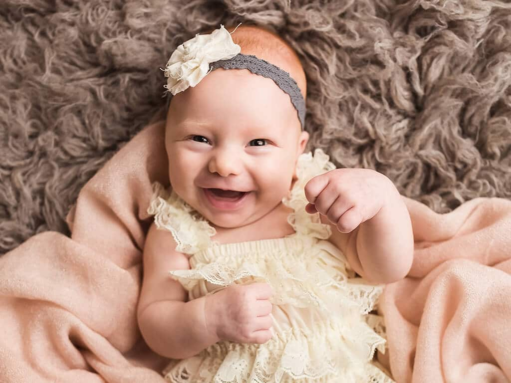 The Happiest Baby on the Planet . . . a Milestone Session