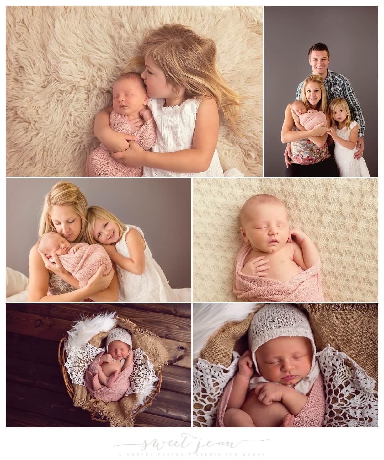 Quinn   Roseville Newborn Photography Session