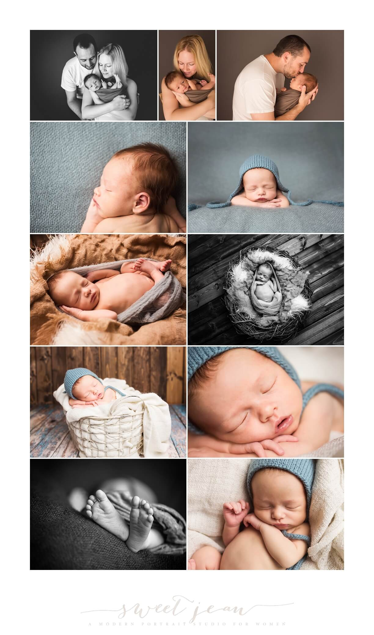 Kellen | Portrait of a Newborn
