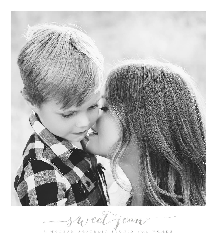 butterfly kisses Roseville Family Photographer