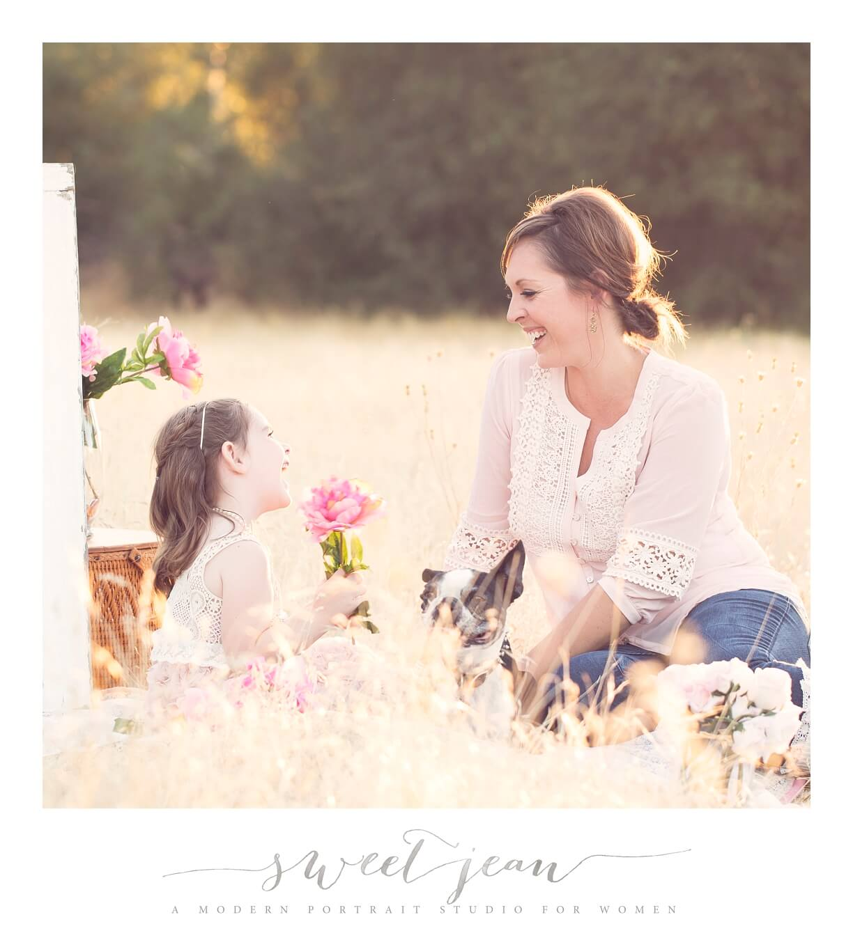 sweet mother & daughter session