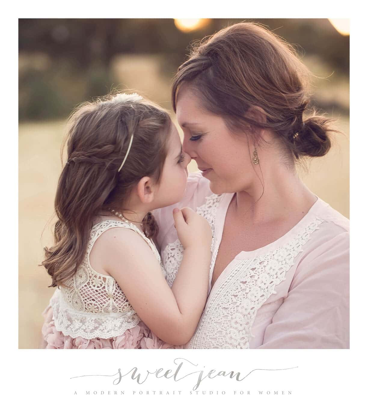 mother & daughter love sweet jean photography
