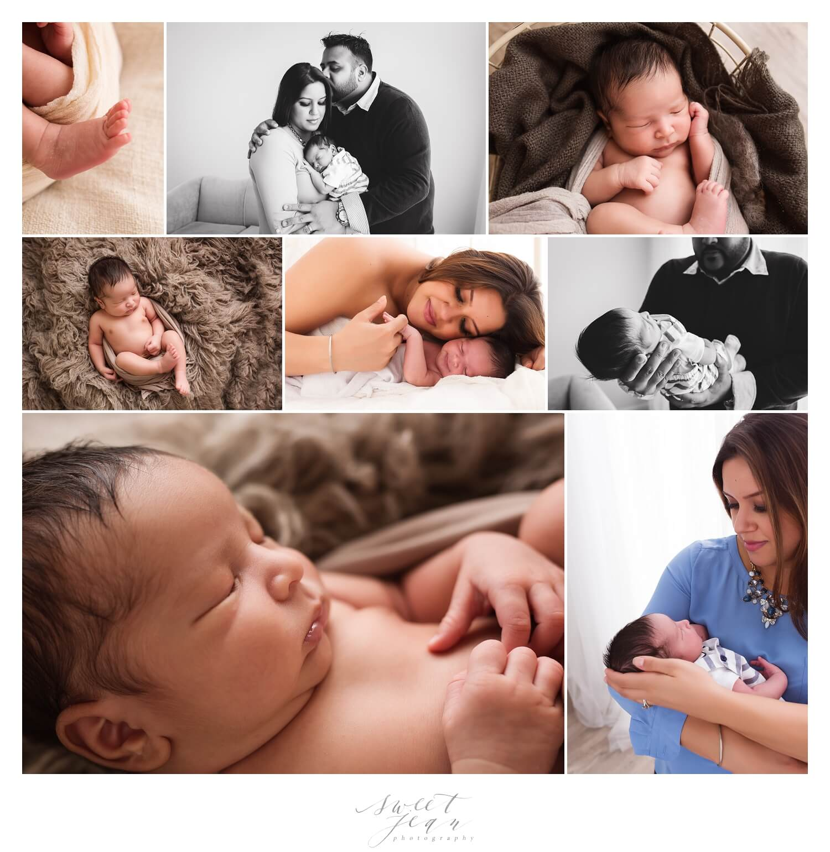 Roseville Newborn Photographer | Welcome Aarav