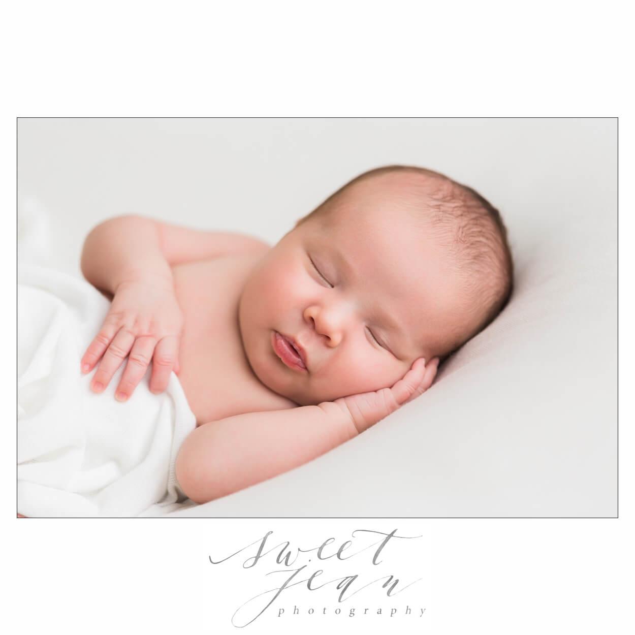 sweet katherine   roseville newborn girl portraits