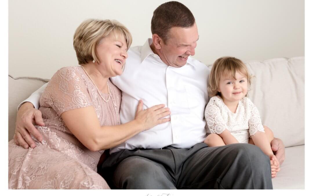 Jan Gary & their granddaughters   Roseville Family Photographer