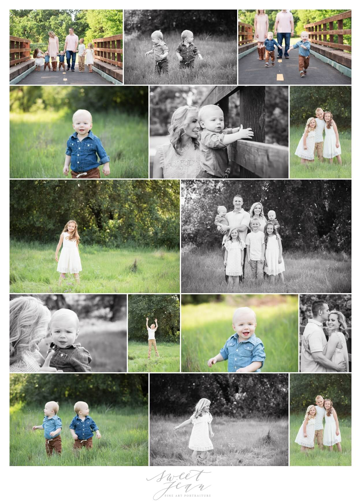 Roseville Family Portraits Outdoor Photographer Sweet Jean Photography